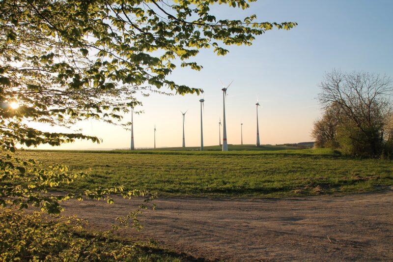 Windmills Trees Field Grass  - Joachimklug / Pixabay